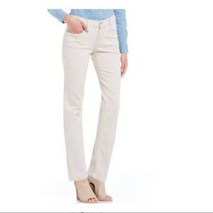 Levi's 505 Straight Mid Rise White Jeans Size 4